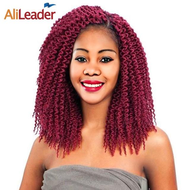 Alileader Freetress Crochet Braids Kanekalon Braiding Hair 12 18
