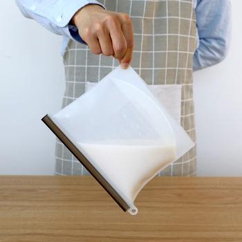 1pc torby do przechowywania żywności przenośne próżniowe żywności świeże torby okłady lodówka pojemnik do przechowywania żywności torba do lodówki zapach dowód torby tanie i dobre opinie Food Fresh Bag silica gel