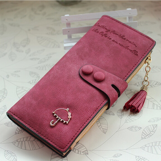 7bf35a66b2 Long Women Wallets Luxury Famous Brands Designer Female Bag Ladies Cute  Women's Purse Wallet Leather Carteras Card Holder