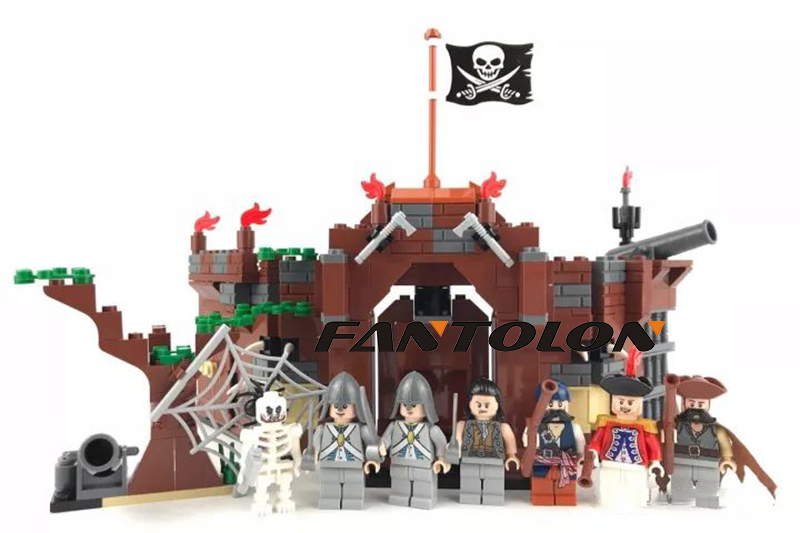 451pcs Building Blocks sets Black Pearl Ship Bricks Sale Pirates of the Caribbean LegoINGly education Toys for Children kazi 1184pcs pirates of the caribbean black general black pearl ship model building blocks toys compatible with lepin