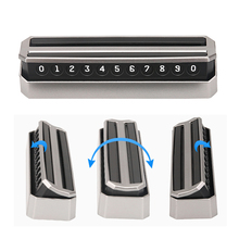 Numero di Telefono Della Scheda di Parcheggio auto Sticker Stile Del Cassetto Nascosto Per Ford Focus 2 3 fiesta mondeo ecosport kuga HYUNDAI ix35 opel Astra