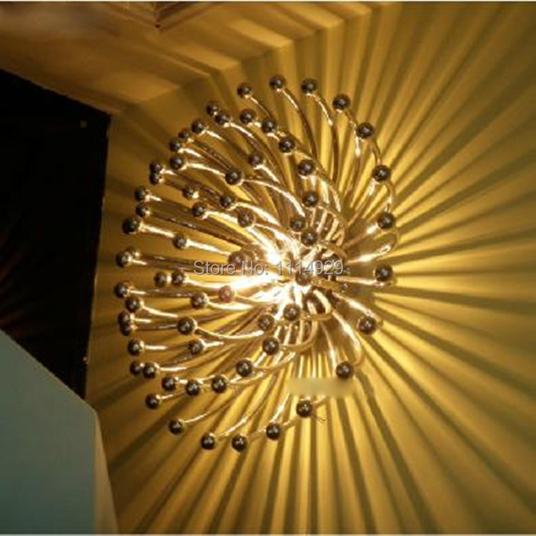 Contemporary Chrysanthemum Ceiling Light Modern Living room/Bedroom Home Decoration Lighting E27 Lamp Holder ABS PC AC120-240V