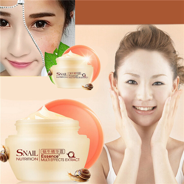 50g Snail Essence Cream Facial Face Skin Care Acne Treatment Whitening Women Anti Wrinkles Aging Reduce Scar Day Moisturizing