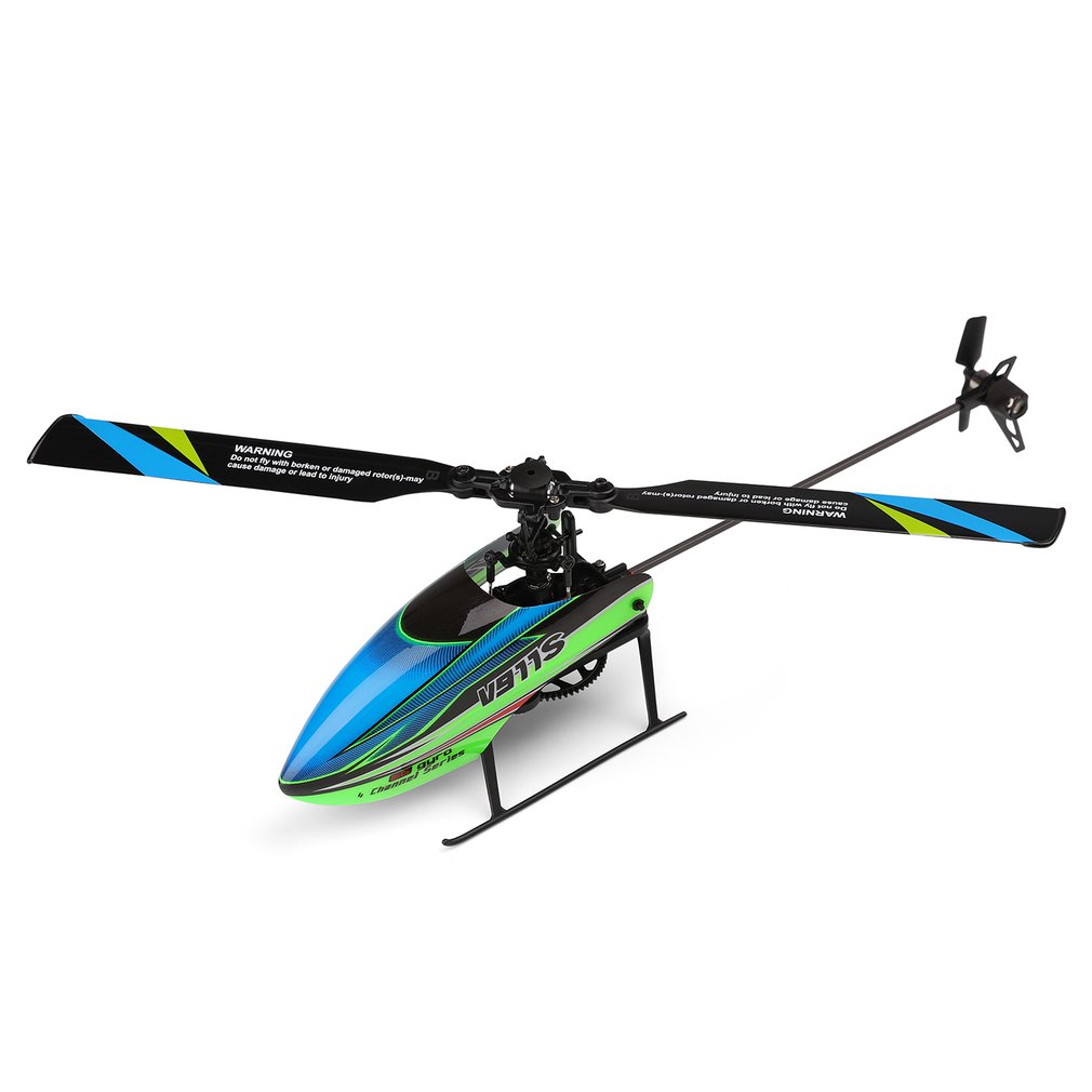 Wltoys V911S Aircraft Four Way Single Propellless Aileron Aircraft Remote Controller With No aileron design Leaf Kid Gift ToysRC Helicopters