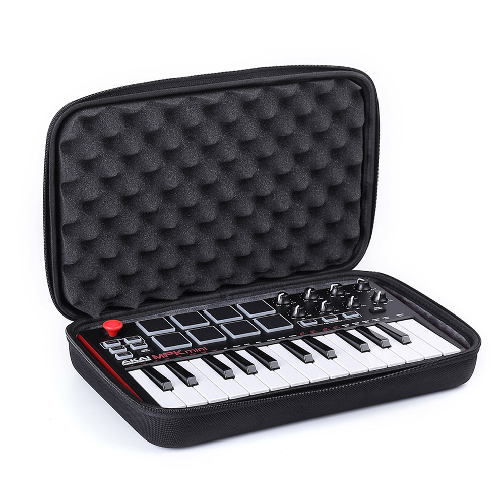2018 New Eva Travel Bag Case For Akai Professional Mpk Mini Mkii | 25-key Ultra-portable Usb Midi Drum Pad & Keyboard Controller To Have A Long Historical Standing