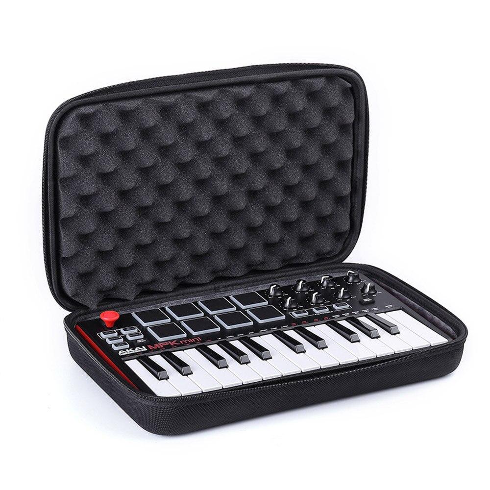 2018 Neue Eva Reisetasche Fall Für Akai Professionelle Mpk Mini Mkii Unterhaltungselektronik 25-key Ultra-tragbare Usb Midi Drum Pad & Tastatur Controller Einfach Zu Verwenden Videospiele