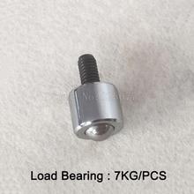 4PCS Small Mini Universal Ball With M6 Screw Bovine Eye Bear Cattle Wheel Load Bearing 7KG JF1343