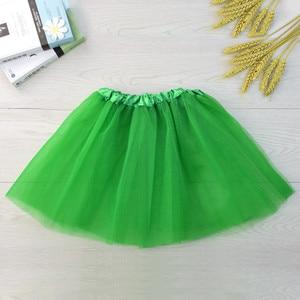 Детская одежда для маленьких девочек юбка-пачка Пышная юбка-американка Детские балетные юбки для танцев вечерние юбки принцессы фатиновые ...