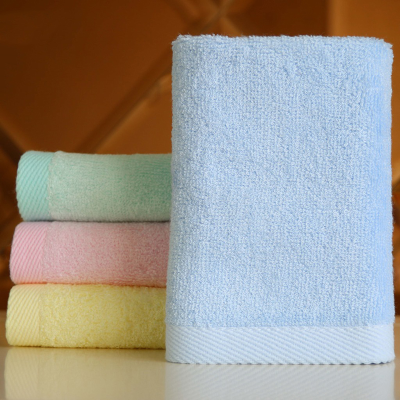 30X 30cm New Square Bamboo Fiber Cotton Face Hand Car Cloth Towel House Cleaning Practical B