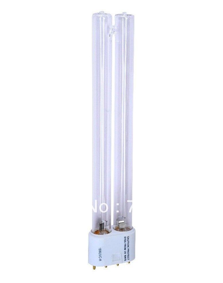 Купить с кэшбэком 18W UV REPLACEMENT BULB FOR Tetra Pond PUV2500, PUV4000, UV2 Pond Clarifier, UV2, Ultravation LPPP0001, UVE-000 Custom SeaLife