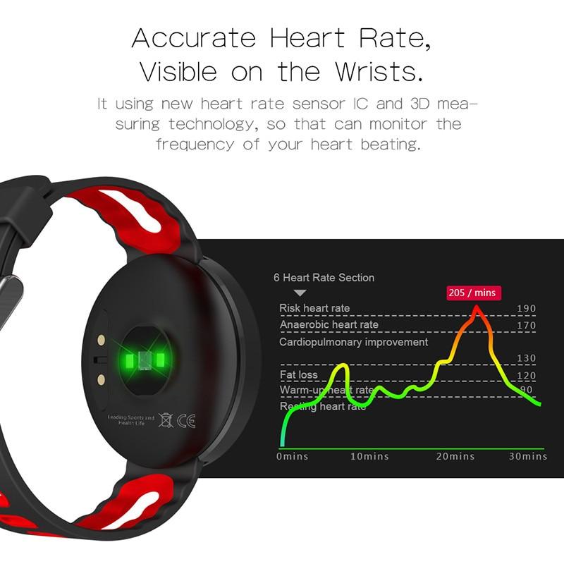 DM58 Mujeres Hombres reloj digital Deporte Bluetooth Smart Pulsera - Relojes para hombres - foto 5