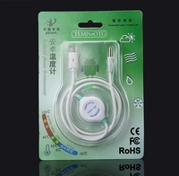 Brand 8in1 Android Phone OTG Temperature Sensor 50C 125C TEMPerOTG Thermometer Data Recorder For Baby Ovulation