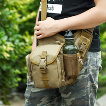 2019 Time-limited Real No Nylon Outdoor Camping Hiking Chest Bag Camouflage Diagonal And Multi-function Shoulder Slung Army Fan