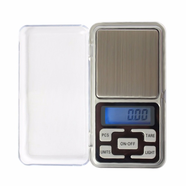 1pc 100/200/300/500gx0.01g Precision Digital Scales for Gold Sterling Silver Scale Jewelry 0.01g Weight LCD Electronic Scales