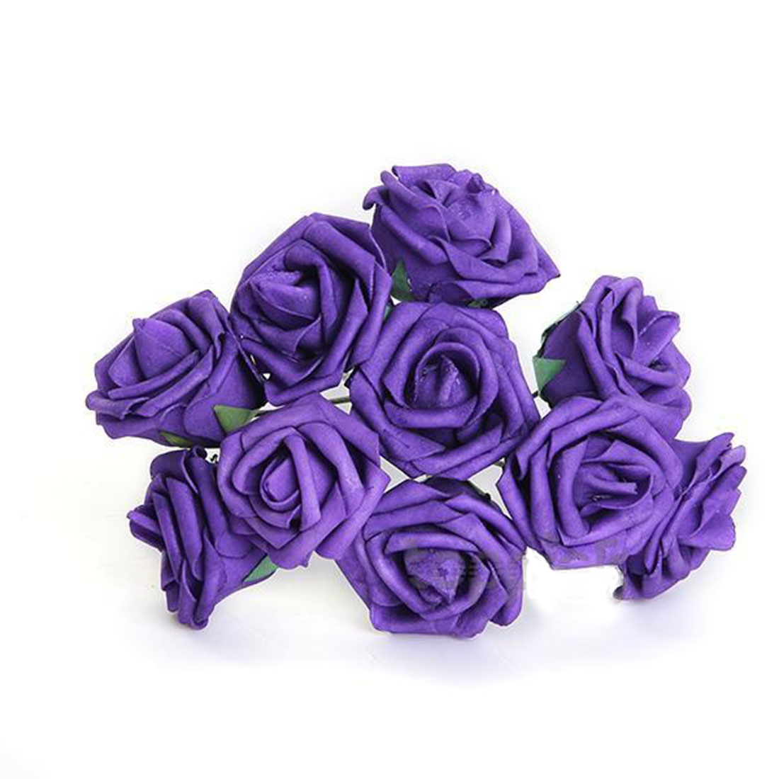 Free Shipping New 7cm Purple Artificial Flowers Fake Rose Flower