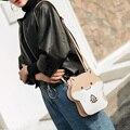 Cute Lady Mini Animal Hamsters Leather Messenger Shoulder Bag Girls Handbag Bolsa Feminina Women Crossbody Bag Shoulder Bags