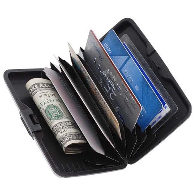 Card Holder Anti RFID Credit Card Holder Aluminium Card Wallet Men ...