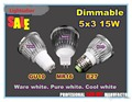 SALE-Retail  high quality CREE 9W 12W 15W Dimmable GU10 MR16 E27 E14 B22 Led Light LED Lamp Spotlight LED bulb lights lighting