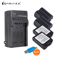 4X CGA S006 S006 DMW BMA7 S006A CGR S006E Battery +LED USB Charger for Panasonic Lumix DMC FZ7 FZ8 FZ18 FZ28 FZ30 FZ35 FZ38 FZ50