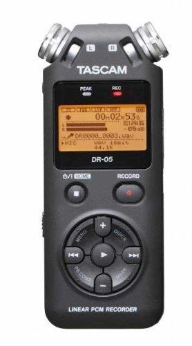 الأصلي Tascam dr-05 يده المهنية المحمولة مسجل صوت رقمي MP3 قلم تسجيل النسخة 2 مع 4 جيجابايت مايكرو SD
