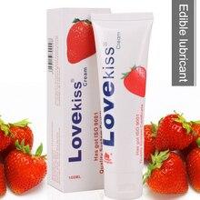 лучшая цена 2019 1 Pcs Fruit Flavor Edible Lubricant Adult Oral Sex Toy Massage Oil DC88