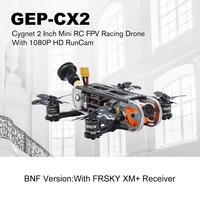 Geprc GEP CX2 Cygnet Mini Aircraft 2 Inch Stable Split 1080P HD RunCam GEP GR1106 6000kv Motor RC FPV Racing Drone BNF