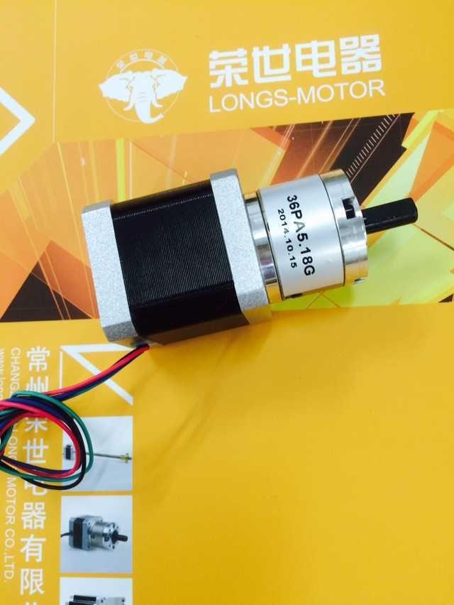 Nema17 Planetary Gearbox stepper motor 5.18:1 3D Printer RepRap Kossel Prusa New