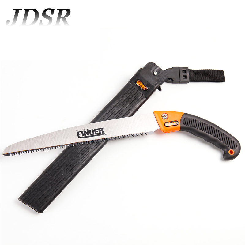 JDSR Portable Mini Saw Woodworking Saw Universal Hand Trimming Saw Garden Wood Cutting Pruning Camping DIY Woodwork Hand Tools manganese steel garden hand tools pruning serra saw with rubber handle folding diy woodworking saws color random