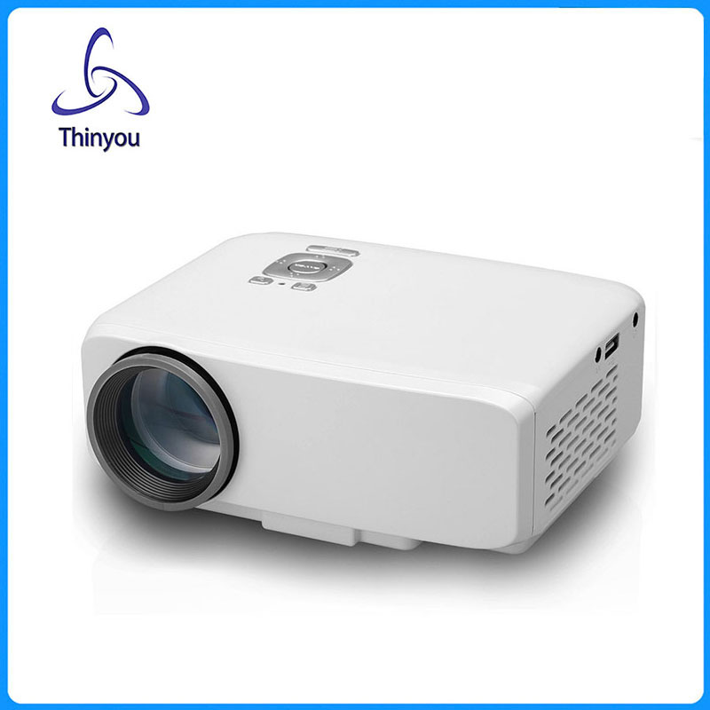 Thinyou Original Mini Projector HDMI Home Theater beamer multimedia LED Proyector Full HD 1080P video Home Cinema projektor 2015 newest original mini pico portable full hd 3d projector hdmi home theater beamer multimedia proyector full hd 1080p video