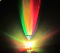 1000 unids F3 3mm RGB LED Diodo Rojo Verde Azul SLOW Flash Colorido Del Arco Iris LED bolas de Luz de lámpara