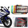 Knight Motorcycle Accessories Engine Radiator Bezel Grille Grill Guard Cover Protector For Yamaha R25 2013 2014