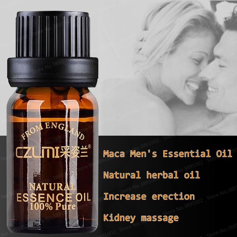 Maca Male Herbal Big Dick Essential Oil for Men To Increase Cock Growth Fast Viagra Massage Oil 10ml Enlargement Product Кубок