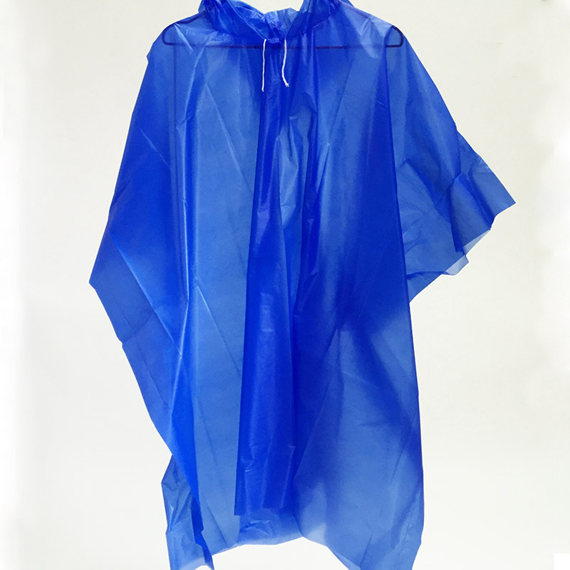 KID Raincoat Hooded Disponibel Vanntett Capa de Chuva Infantil Menino Rainwear Poncho Pluie Transparent Rain Coat for Children