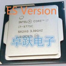 Процессор Intel Core I7 5775C I7-5775C ES 3,3 GHz 14nm quad core 65 W настольные компьютеры процессор