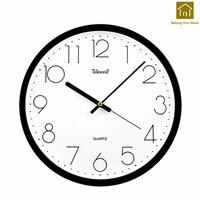 Creative Quartz Watch Wall Clock Living Room Simple Modern Decoration Clock Wall Design Reloj Pared Watch Klok Time Tool WKP155
