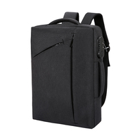 Large Capacity Anti theft Backpack Male Business Casual Computer Adjustable Strap Rucksack Waterproof Travel Password Lock Bag