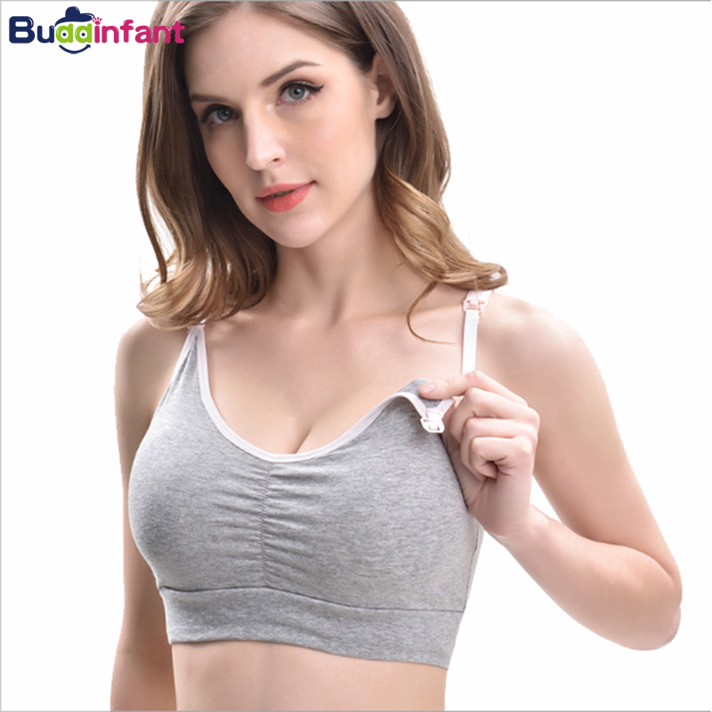 Breast Feeding Bra Maternity Nursing Bras Breastfeeding Tops Prevent Sagging For Pregnant Women Underwear Plus Size Clothes New
