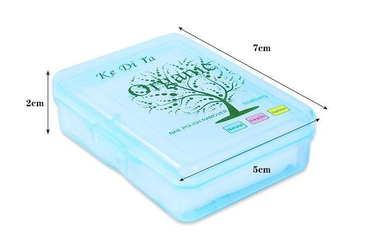 10 stks / partij Nagellak Remover Fruit Nursing Handdoek Wassen Nail - Nagel kunst - Foto 3