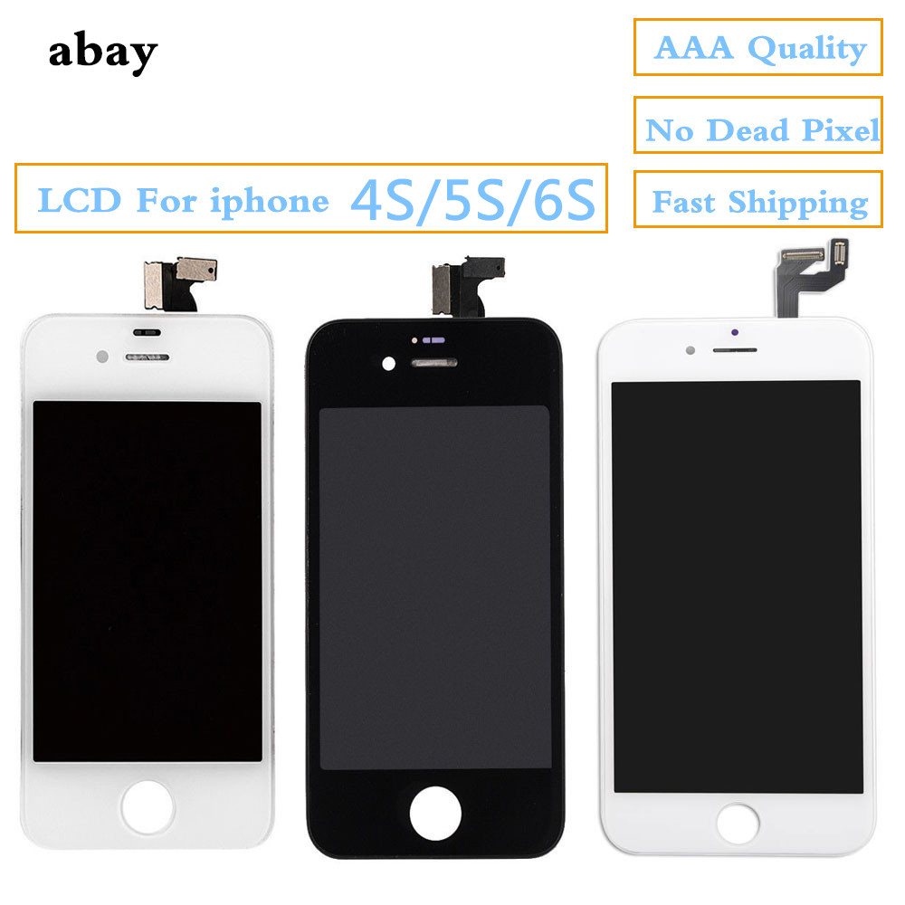 100% Tested LCD Screen For <font><b>iphone</b></font> 5s 4s <font><b>6S</b></font> Display LCD Touch Screen Digitizer Assembly Repair Pantalla <font><b>ecran</b></font> for <font><b>iphone</b></font> <font><b>6s</b></font> 5s 4s image