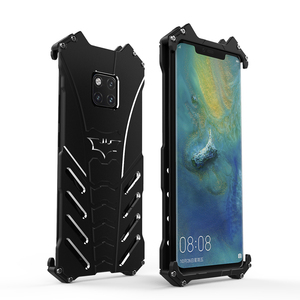 Image 2 - Luksusowe Heavy Duty BATMAN Metal aluminium telefon etui na Huawei Mate 20 x Mate 20 P20 Pro Nova 3 4 V20 mate 20 Lite pokrywa