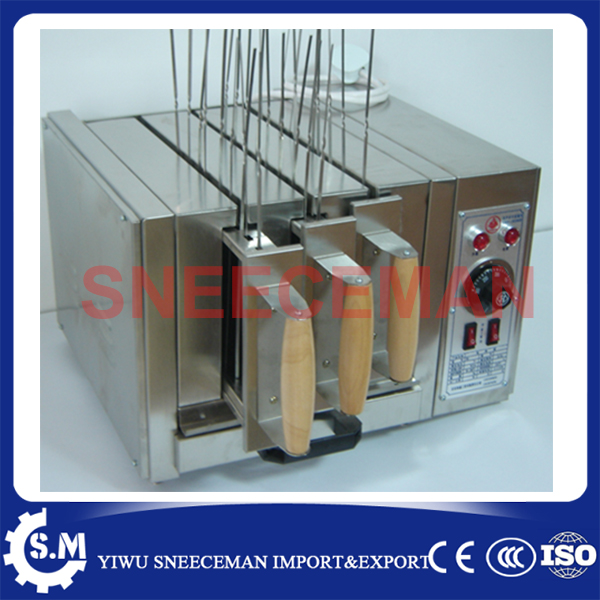 Three groups of kebab ovens commercial Electric oven machine three groups of kebab ovens commercial electric oven machine