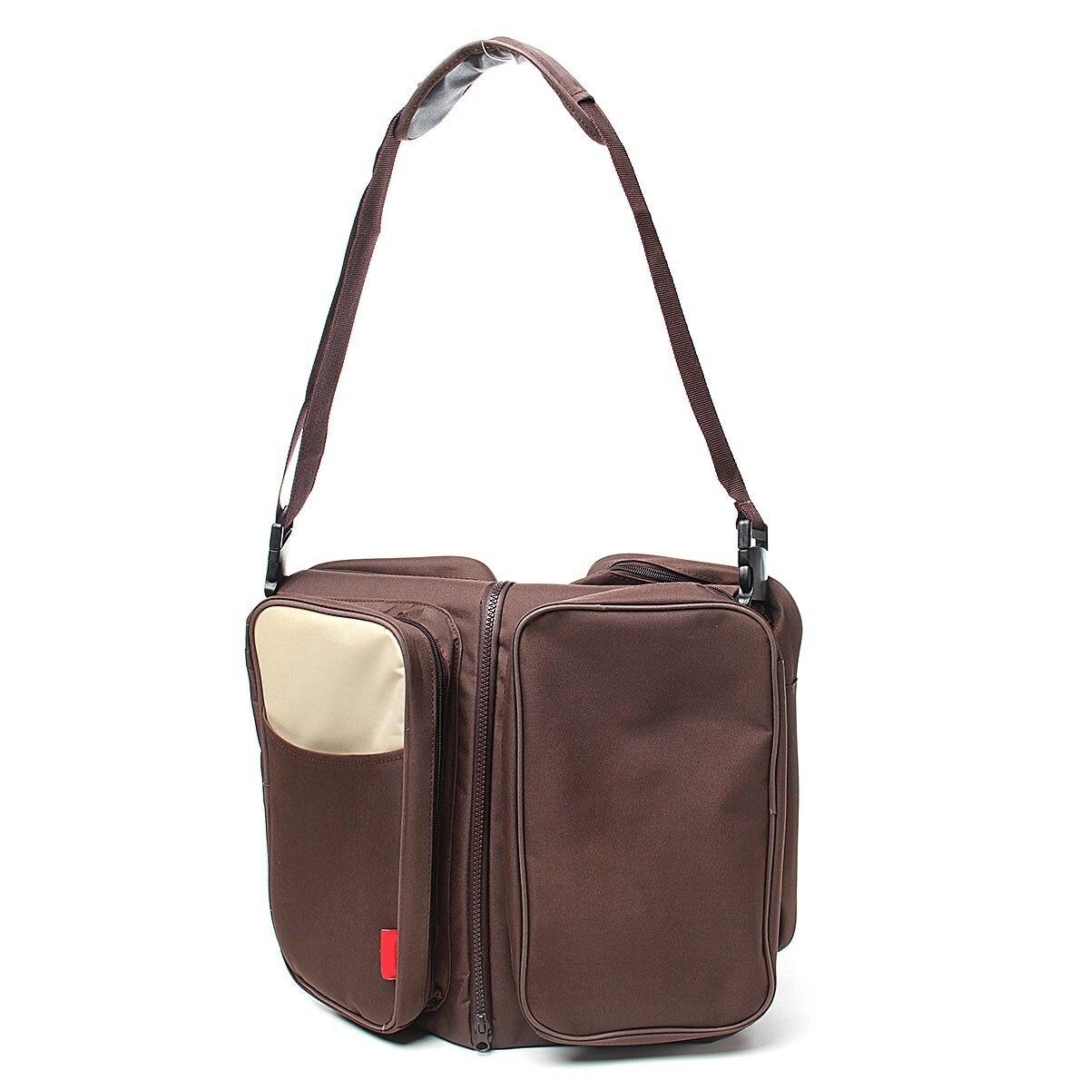 2in1 Crib Bassinet Large Maternity Single Stroller Backpack Multi-functional Breathable Nursing bag Baby Diaper Bag Nappy Change