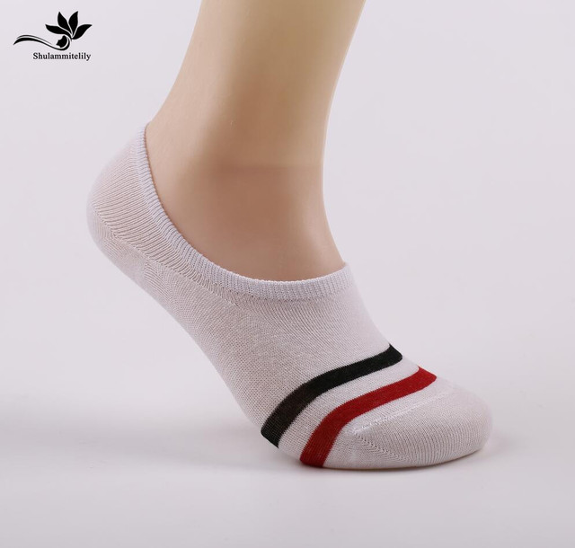 efc813ab2 12Pairs Loafer Socks Women Non-Slip New Fashion Cotton Invisible Socks Men  Casual Dunk Low Cut No Show Socks Calcetines hombre