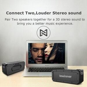 Image 5 - Lewinner X3 haut parleur Bluetooth IPX7 étanche Portable sans fil haut parleur 40W haut parleurs 15H Playtime avec caisson de basses supplémentaire