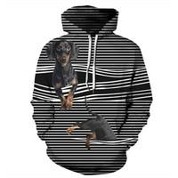 2019 New Fashion Men/Women 3D Hoodie Print Horse Dog Designed Sweatshirts harajuku Hoodies