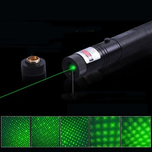 Image 3 - 2 adet yeşil ışık lazer kalem 500 metre lazer ışık cihazı 50MW yıldız lazer kalem fener 4 adet renk seçim için
