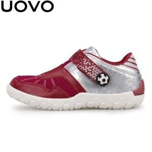 Image 3 - UOVO 2020 Neue Ankünfte Marke Kinder Schuhe Sommer Herbst Jungen Turnschuhe Atmungsaktive Licht Gewicht kinder Schule Schuhe Racing stil