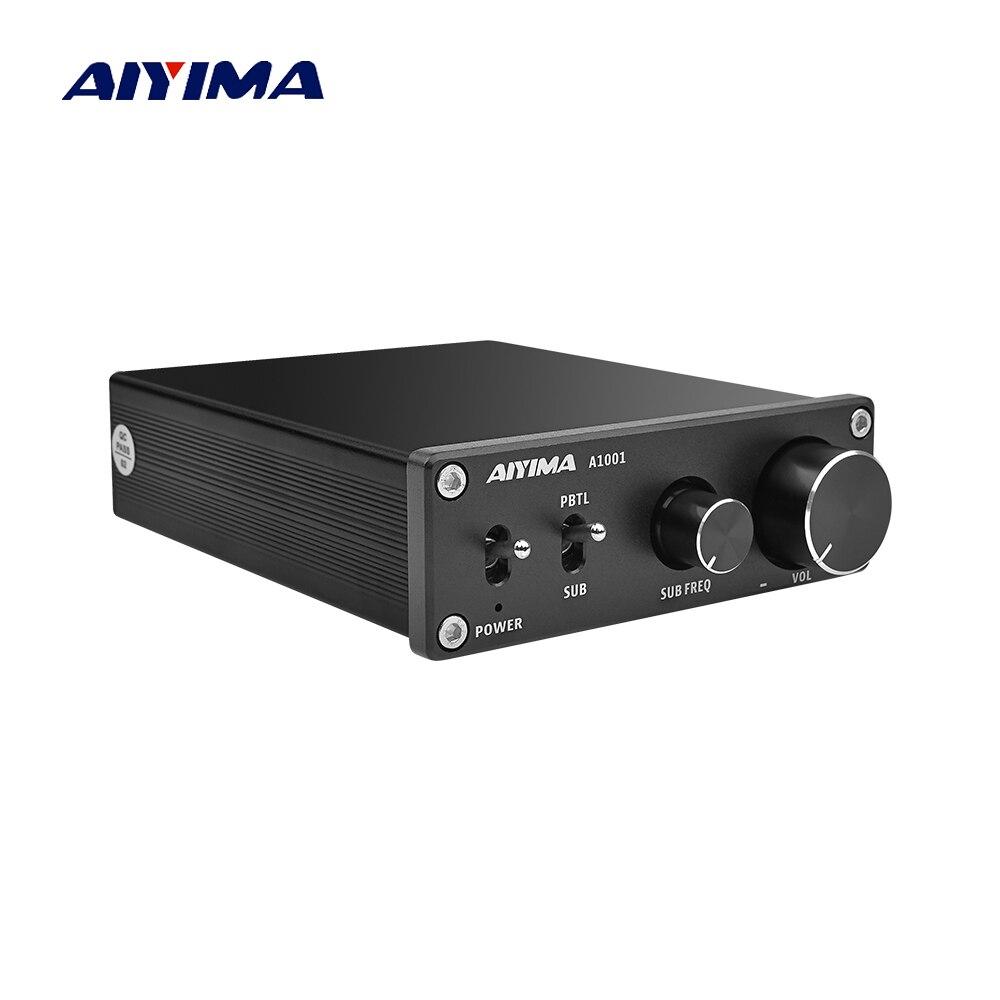 AIYIMA TPA3116D2 amplificateur de caisson de basses Mono 100W haute puissance classe D HiFi amplificateur de son Audio numérique carte amplificateur amplificateur
