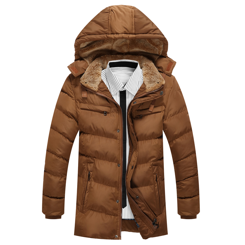 Bolubao Men Winter Jacket Coats New Luxury Thick Cotton Warm Padded Hoody Detachable Casual Outerwear Male Hooded Down Parkas free shipping winter parkas men jacket new 2017 thick warm loose brand original male plus size m 5xl coats 80hfx