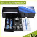 Ago G5 Dry Herb Vaporizer Pen kit 1.8ml Cartridge 1100puffs 650mah LCD Display Battery Ago G5 Electonic Cigarette kits